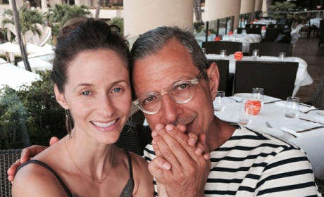 Jeff Goldblum and Emilie Livingston: Married!