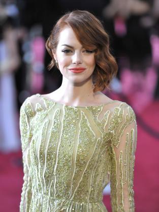 Emma Stone at the 2015 Oscars  Emma Stone