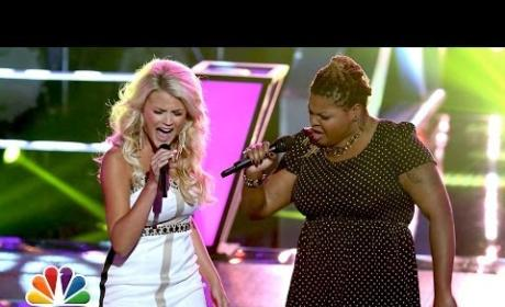"Olivia Henken vs. Stephanie Anne Johnson: ""Done"" - The Voice Battle Round"