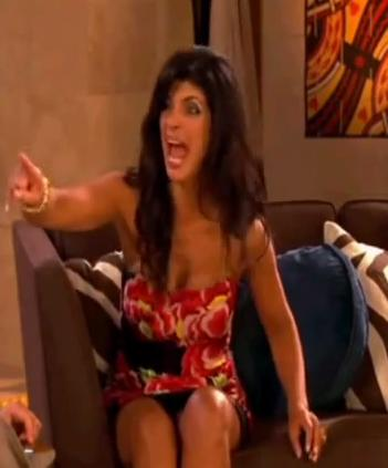 Teresa Giudice: Mid Fight
