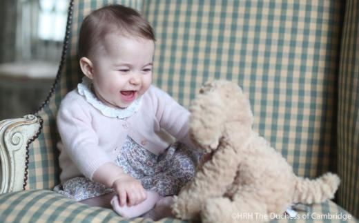 Princess Charlotte Has A Laugh