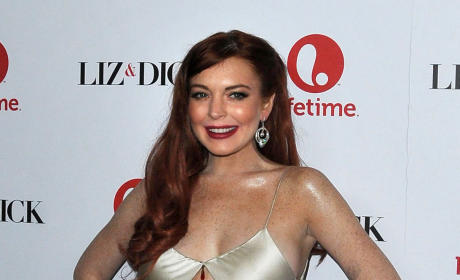 Fashion Police: Lindsay Lohan at the Premiere of Liz & Dick
