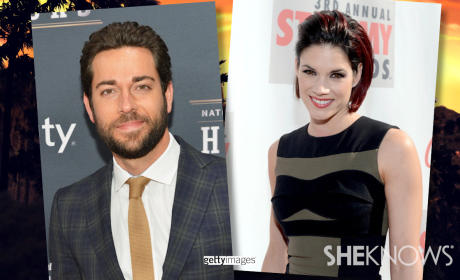 Missy Peregrym, Zachary Levi Married!