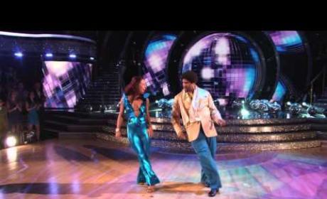 Tavis Smiley & Shana Burgess - Dancing With the Stars Week 2 Performance