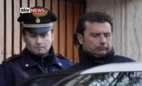 "Francesco Schettino, Italian Cruise Ship Captain, Claims He ""Tripped"" Into Lifeboat"