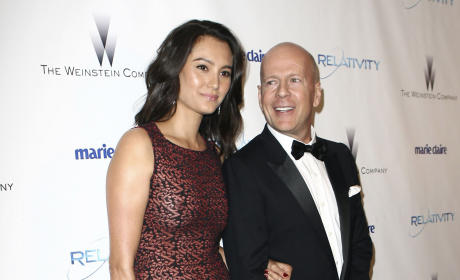 Emma Hemming: Spotted with Bruce Willis