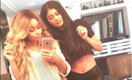 Blac Chyna and Kylie Jenner Selfie!