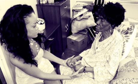 Rihanna's Grandmother Dies of Cancer; Chris Brown Tweets Condolences