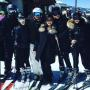 The Kardashians take a Group Ski Photo