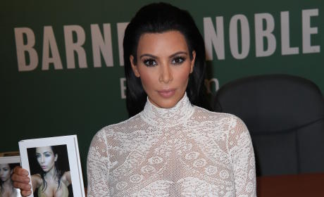 Kim Kardashian Selfie Book: Even More Absurd Than the Kris Jenner Cookbook?