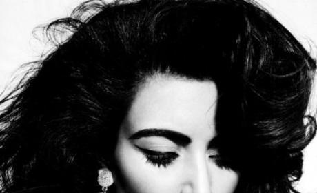 Kim Kardashian in Elle