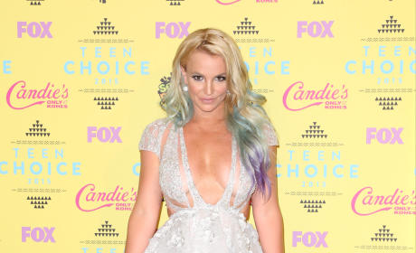 Britney Spears at the 2015 Teen Choice Awards