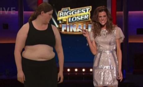 Rachel Frederickson Wins Biggest Loser!