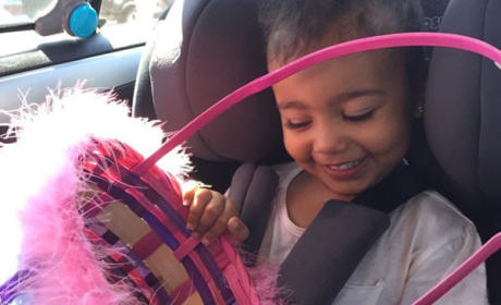 North West Goes Easter Egg Hunting: Totes Adorbs!