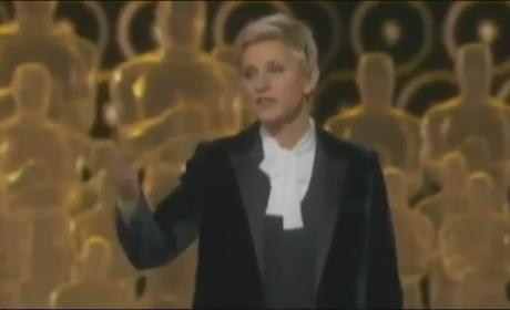 Ellen DeGeneres Oscars 2014 Monologue: How Did She Do as Host?