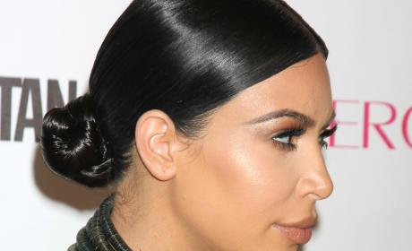 Kim Kardashian: Pregnancy Boobs Photo