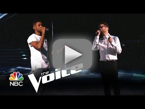 Josh Kaufman and Usher - Every Breath You Take (The Voice)