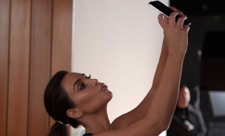 Smile, Kim Kardashian!
