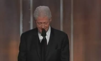 Bill Clinton Introduces Lincoln, Receives Standing Ovation at Golden Globe Awards