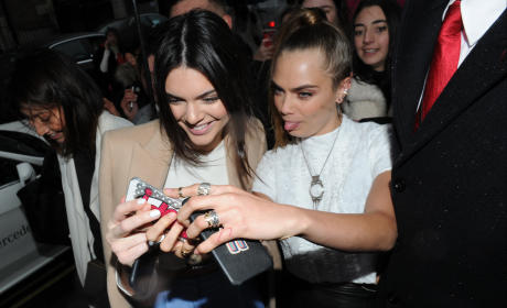 Kendall Jenner and Cara Delevingne: Reality Show In the Works?!