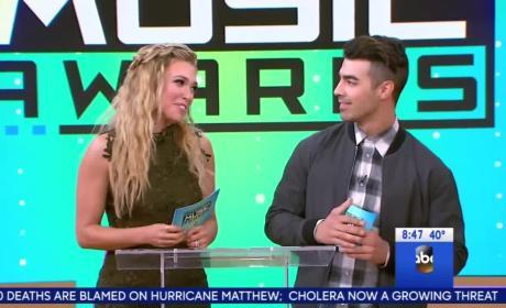 Rachel Platten & Joe Jonas Announce American Music Award Nominations