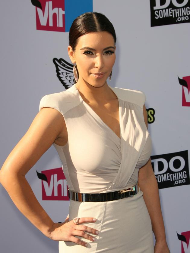 The Kim Kardashian Pose