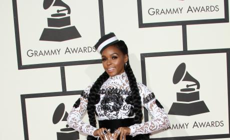 Janelle Monae at 2016 Grammys