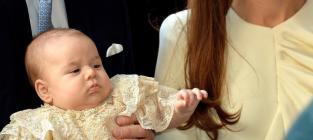 Prince George Christened