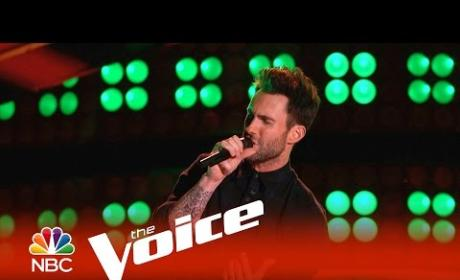 Adam Levine Blind Audition (The Voice)