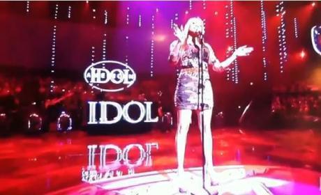 "Breanna Steer Possesses ""Flaws & All"" on American Idol"