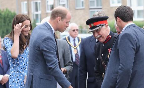 Prince Williams Makes Sure Lord Lieutenant OK