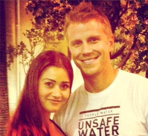 Sean Lowe and Catherine Giudici Photograph