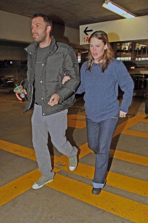 Ben and Jen at the Hospital