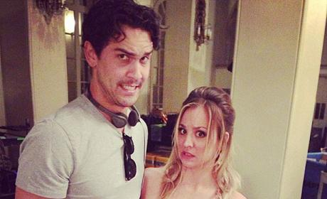 Kaley Cuoco Sweeting and Ryan Sweeting
