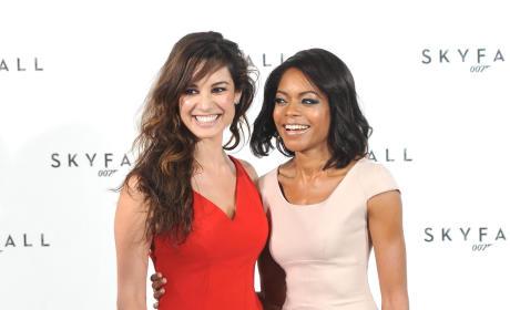 Berenice Marlohe & Naomie Harris: The New Bond Girls