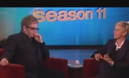Elton John Praises Miley Cyrus, Thinks Liam Hemsworth is Hot