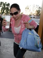 Octomom at Starbucks