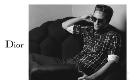 Robert Pattinson Models for Dior