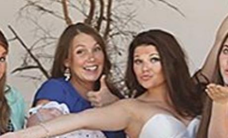Anna Duggar Celebrates Amy's Wedding
