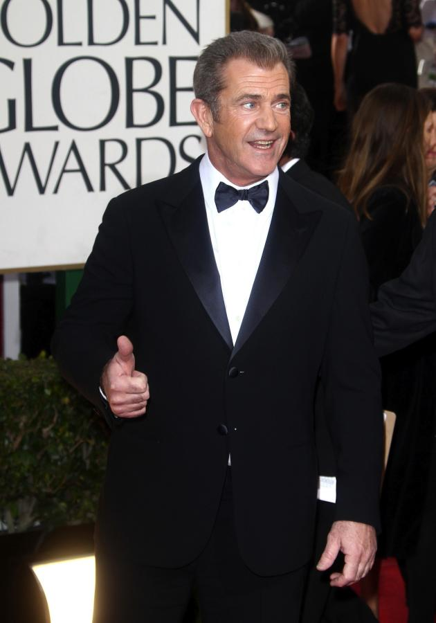Mel Gibson at the Golden Globes