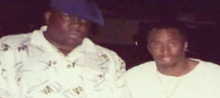 Diddy Posts Notorious B.I.G. Photo, Clutches Beeper, Wins #TBT