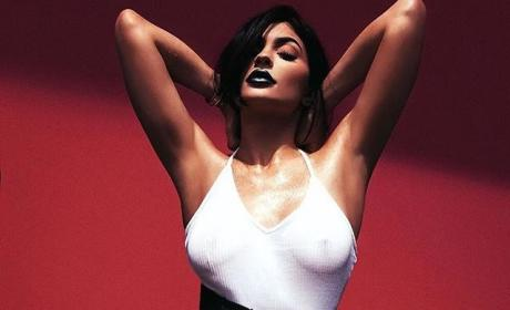 Kylie Jenner: Look at My Nipples! (And Buy My Lip Kit)