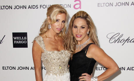 Camille Grammer and Adrienne Maloof Photo