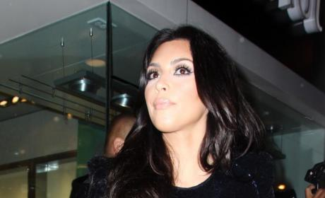 Kim Kardashian Plays Dead for Good Cause