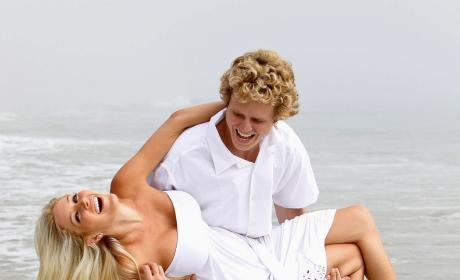 Spencer Pratt and Heidi Montag Celebrate
