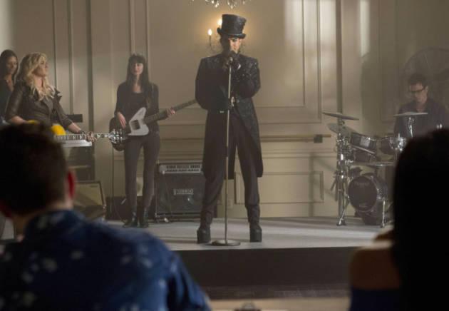 Adam Lambert on Glee
