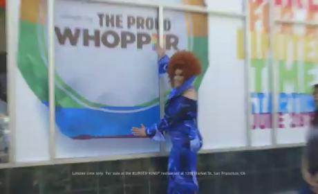 "Burger King Pranks Patrons, Introduces ""Proud Whopper"" in Honor of Gay Pride Parade"