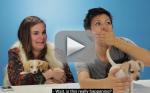 Drunk Women Get Surprised by Puppies