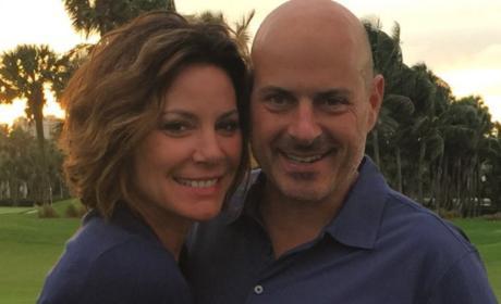 LuAnn de Lesseps and Tom D'Agostino