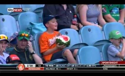 #WatermelonBoy Goes Viral, Makes Valiant Eating Effort